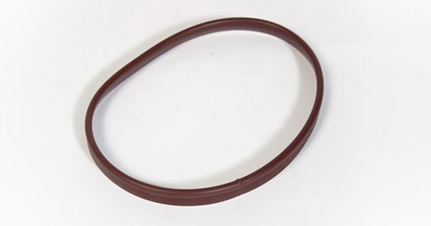 Plastic Extrusion Welded Gasket, Flexible PVC
